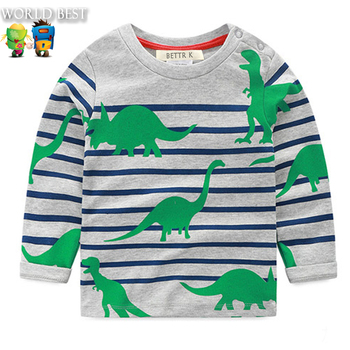 Spring Autumn Boy Girl Clothing Kids Clothes 2016 Baby Boy Clothes Baby Boy Long Sleeve T shirt Children Girls Long Sleeve Top