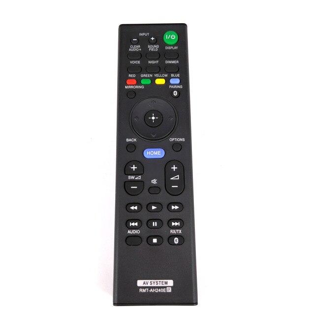 חדש להחליף RMT AH240E עבור Sony Soundbar מערכת שלט רחוק SA CT390 SA WCT390 RMT AH240U