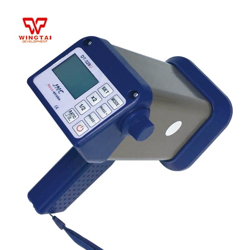 DT-326U Portable Nova-Strobe LED Stroboscope/portable strobe light For Packing printing industry 1000mm pt l02b 1000 led fixed stroboscope light portable stroboscope lamp for printing