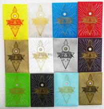 KMC 5 Packs / lot (250 шт.) Защитный чехол для карты YuGiOh Рукава для рукавов ZEXAL / 5DS / Настольные игры 50 рукавов / сумка бесплатная доставка