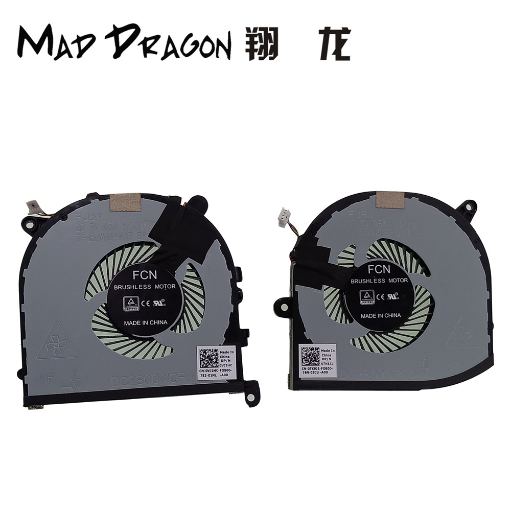 MAD DRAGON Brand Laptop For Dell XPS 9560 Precision 5520 M55
