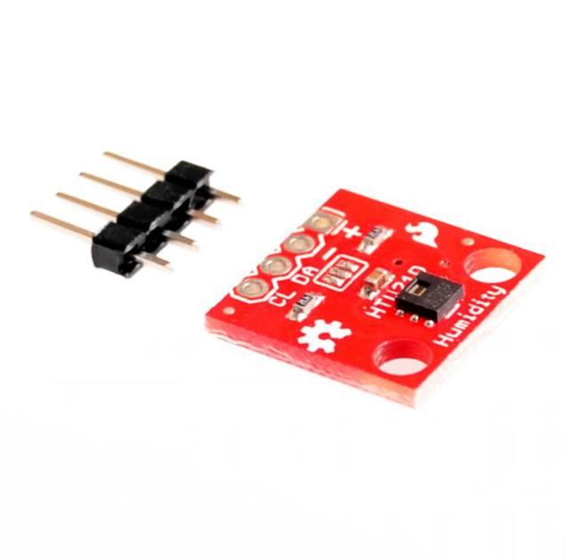Temperature Humidity Sensor GY 213V HTU21D I2C Replace SHT21 SI7021 HDC1080 Module