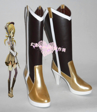 New Arrival Puella Magi Madoka Magica Mami Tomoe Cosplay Boots Shoes For Cosplay Event Halloween недорого