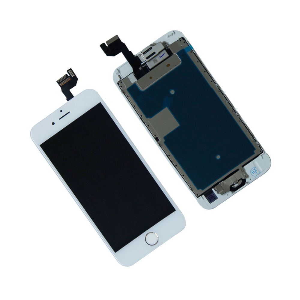 "Touch Screen Digitizer LCD Display Frame For IPhone 6S 4.7"" A1633 A1700 A1688 AT&T Assembly Mobile Phone LCDs Panel Repair Parts"