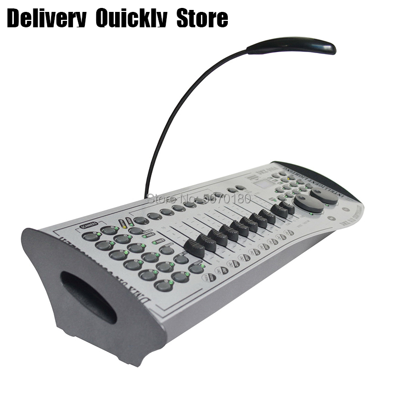 Fast delivery 240A dmx stage light controller powerful dmx 512 console good equipment use for DJ disco party led par moving head in Stage Lighting Effect from Lights Lighting