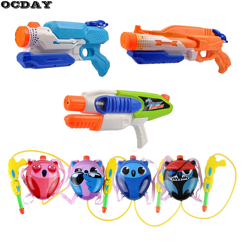 OCDAY Water Gun Toy Summer Beach Children Adults Water Gun Outdoor Sports Game High Pressure Plastic Water Playing Kids Toy Hot