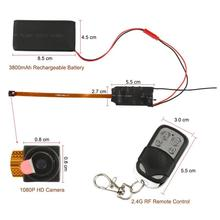 Мини DIY камера 1080 P маленькая камера видео голосовая запись DVR Устройство обнаружения движения kamera мини видеокамера с пультом дистанционного управления