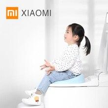 Новое Детское унитаз XIAOMI MIJIA QBORN детское сиденье для унитаза для приучения к туалету милое горшок детское устройство для сбора мочи удобное портативное