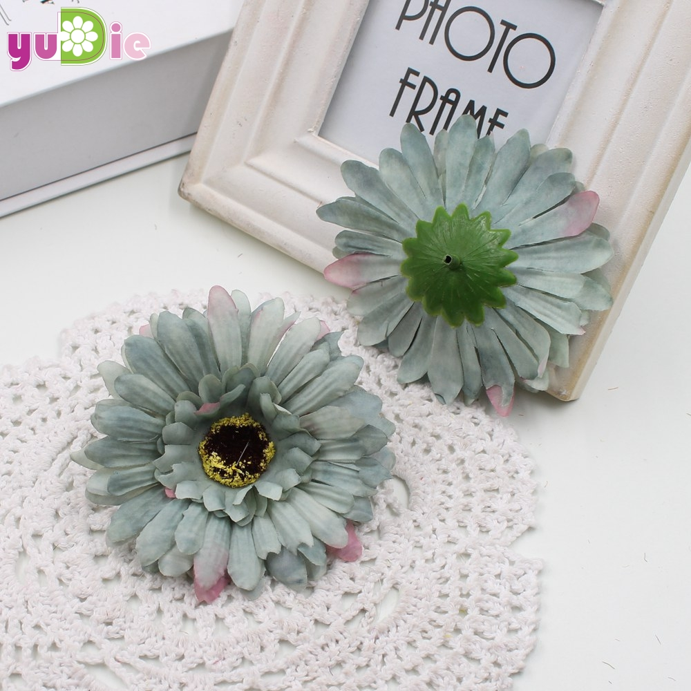 50pcs 9 Limi Mini Daisy Artificial Flowers Gerbera Daisies Flower
