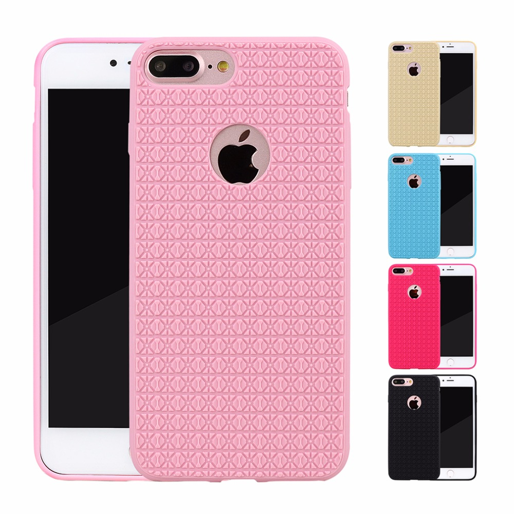 Coque for iphone 7 plus 6 6 s 6s plus 5 5 s 5se silicone for Coque iphone 5 miroir