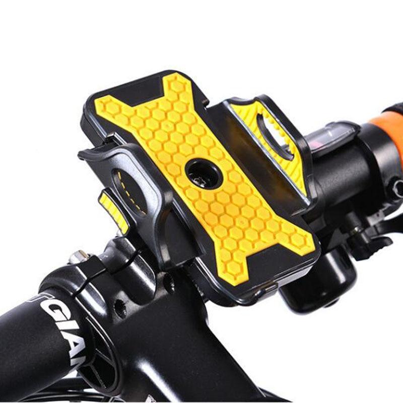 Ciclismo MTB BMX moto Bicicleta de carretera Bicicleta Manillar Soporte para teléfono Soporte Funda para teléfono para iPhone7 6s 6 más 7S más Samsung S7