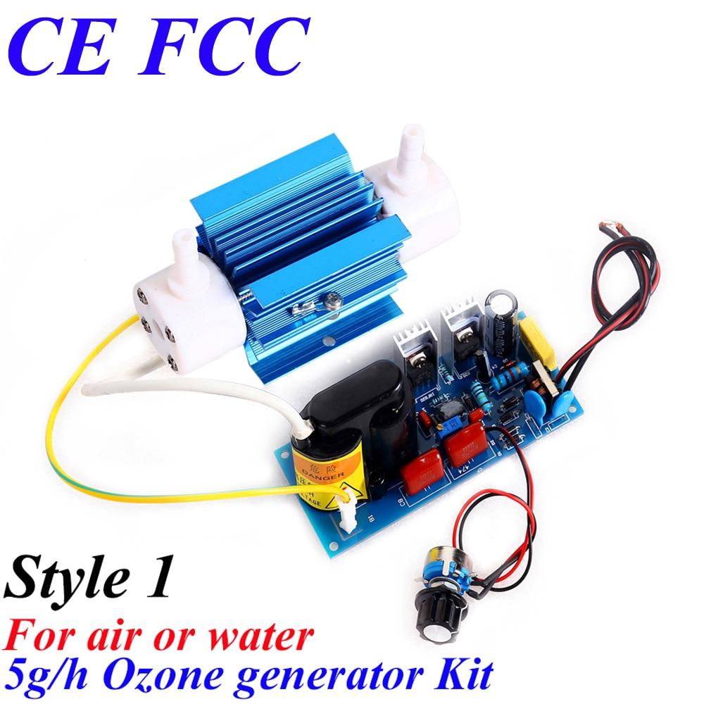 CE EMC LVD FCC kitchen use small ozone sterilizer 5000mg/h