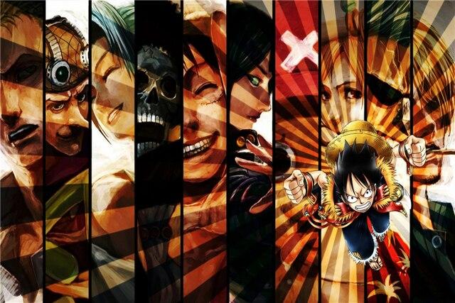 One Piece Luffy Crew Wallpaper