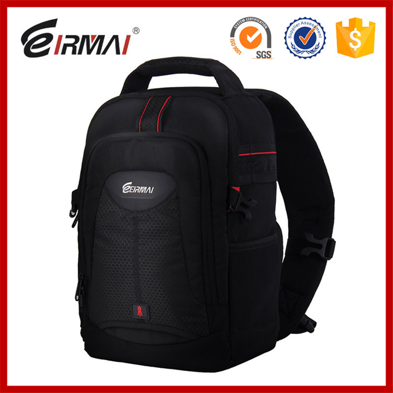 Eirmai DSLR SLR camera bag Shoulder Messenger camera bag for Canon SLR backpack 60D70D for Nikon D750 D810 fly leaf camera bag backpack anti theft camera bag with 15 laptop capacity for dslr slr camera