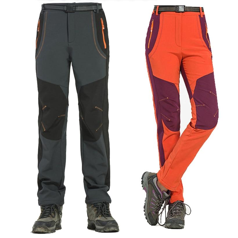NaranjaSabor 2018 New Autumn Mens Casual Pant Mens Winter Pants Waterproof Males Jogger Thick Trousers Inside Fleece Pants 5XL