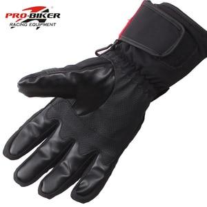 Image 5 - Pro Biker Guantes Motorcycle Gloves Waterproof Leather Gloves Motorcycle Winter Warm Full Finger Motocross Motorbike Moto Glove