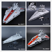 LEPIN 05027 Emperor Fighters 05028 Destroyer 05042 05077 The USC Republic Fighting Cruiser Building Block Toys 10030 10221 8039