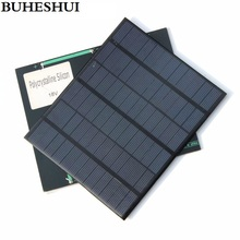 BUHESHUI 3.5W 18V Solar Cell Polycrystalline Solar Panel For Charging 12V Battery DIY Solar Charger 165*135*3MM Free Shipping