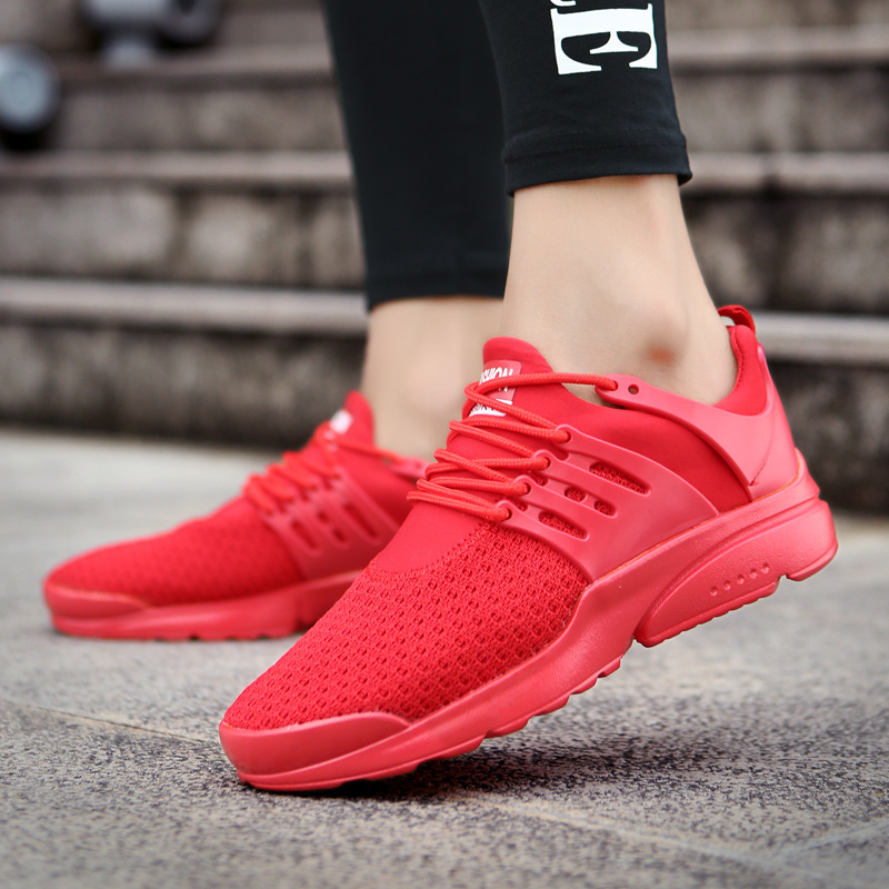 Zapatillas blanco My8108003 Moda Hombres Diseñador Breathable 46 Casual Hombre Malla Venta Zapatos Caliente Negro 39 rojo EZqfAwx7U