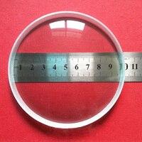 1pc Large Diameter 100mm Double Concave Lens Optical Glass Focal Length 300mm