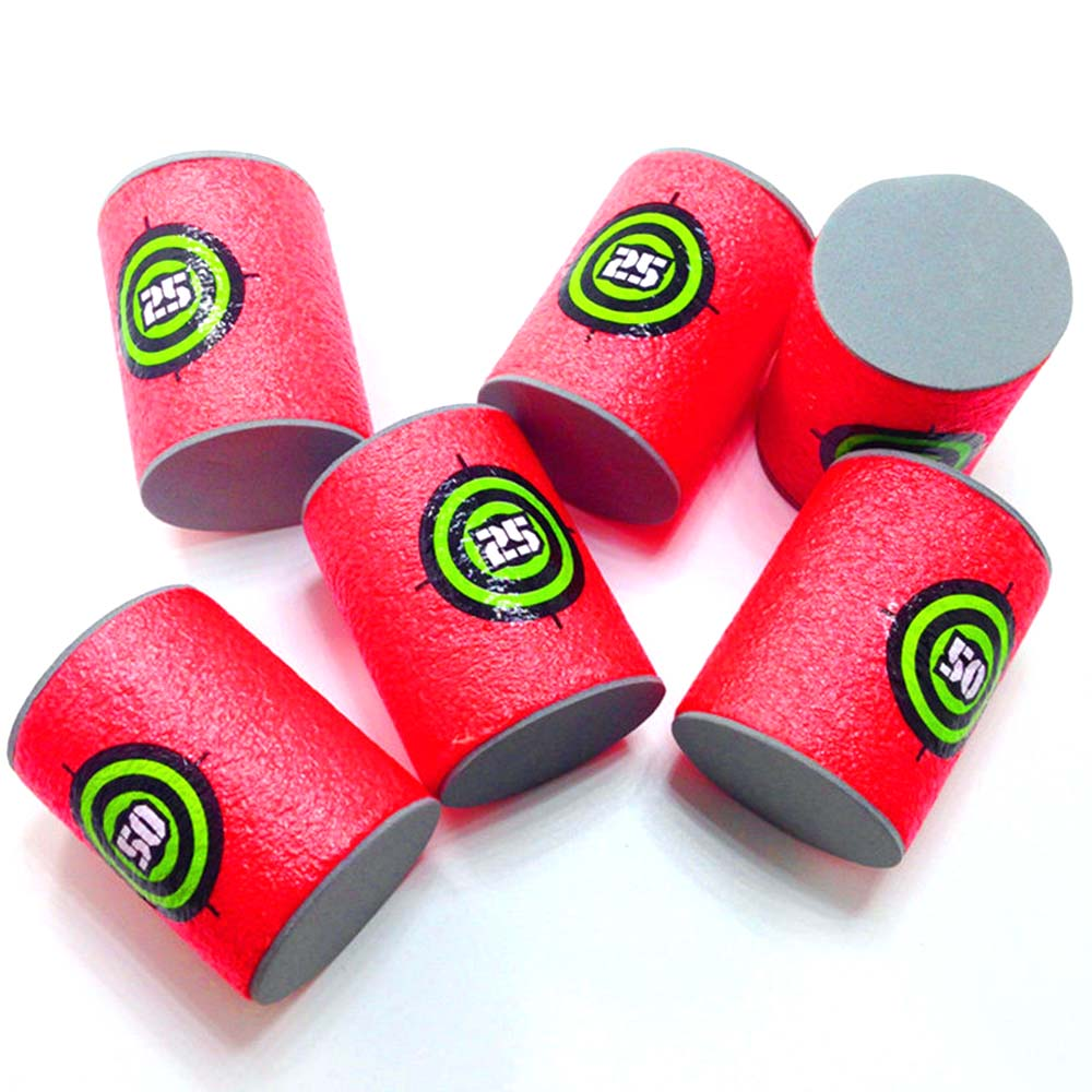 Hospitable Hign Quality New 6 Pcs Dart Foam Gun Shoot Eva Soft Bullet Target Kids Toy For Nerf N-strike Hot Child Toys Free Shipping Toys & Hobbies To Have A Long Historical Standing