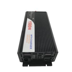 Image 5 - ups inverter 1500W pure sine wave inverter with charger 12V 24V 48v DC to AC 220V 230V 240v solar power inverter