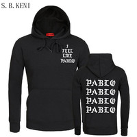 2017 Brand I FEEL LIKE Paul Pablo West Men And Women Hoodie Sweatshirts High Quality Pablo