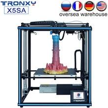 цена на Tronxy New X5SA X5SA-400 FDM 3D Printer Kit Large Print Size  Auto Leveling Filament Sensor High Precision 3.5inch Touch Screen