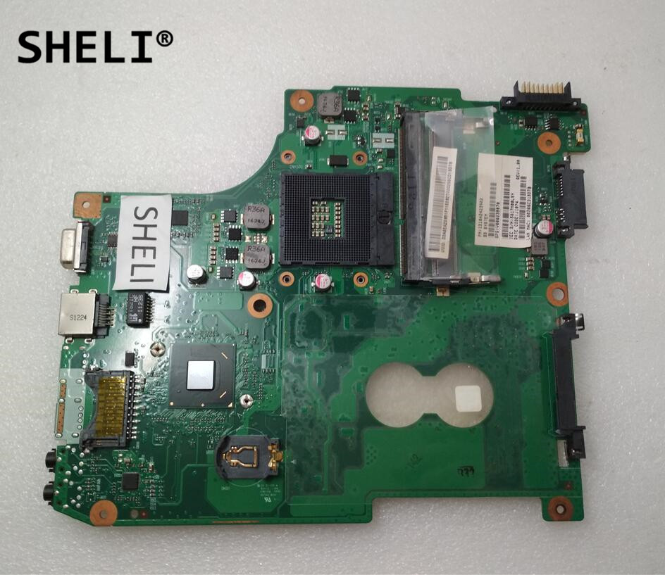 SHELI For Toshiba C600 Motherboard HM65 6050A2423901-MB-A02 V000238070SHELI For Toshiba C600 Motherboard HM65 6050A2423901-MB-A02 V000238070
