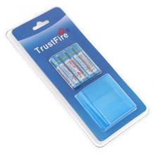 8pcs/lot TrustFire AAA NiMH Battery 1.2V 1150mAh Rechargeable Ni-MH Batteries with Low Self-discharge + Storage Box Case