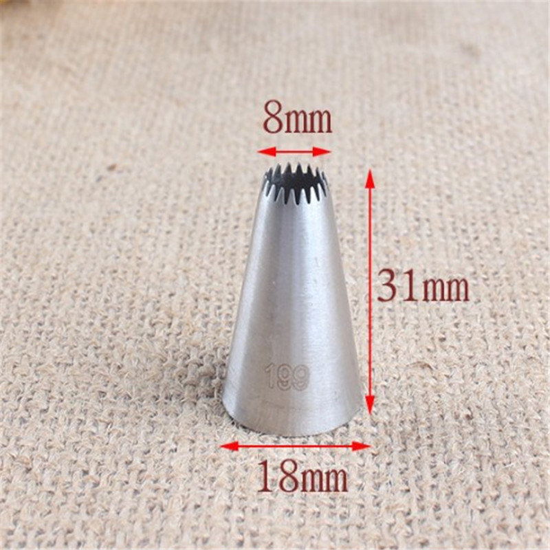 199 Nozzle Cake Decorating Tips Stainless Steel Writing Tube Icing Nozzle Baking Pastry Tools Baking Tools in Baking Pastry Tools from Home Garden