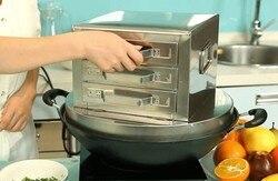 Rolo da placa da máquina cozido no vapor vermicelli vermicelli vapor rolo gaveta 3 vapor forno La intestinal household vapor vege