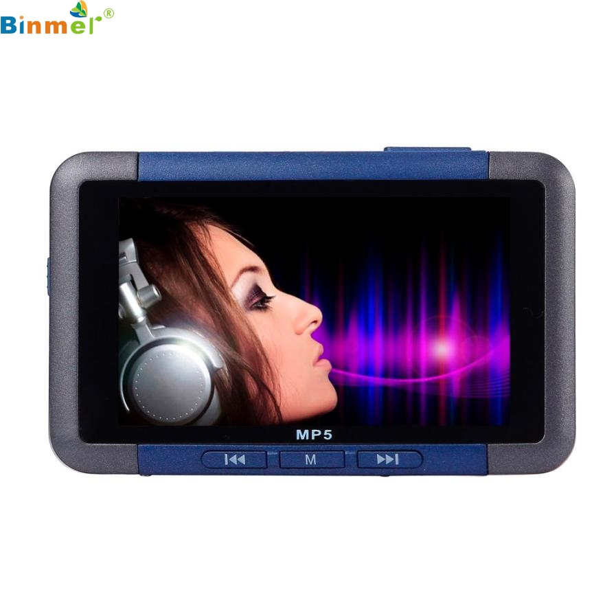 Best Price 8GB Slim MP4 MP5 Music Player With 4 3 Inch LCD Screen FM Radio