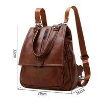 Women's Shoulder Handbags Fashion Backpack Anti theft Backpack Schoobag Travel Daypack