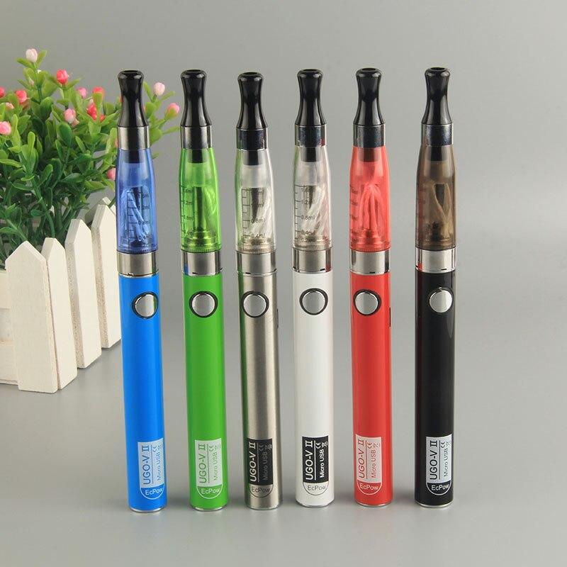 UGO-V2 CE4 Blister e-zigarette vape stift kit 900 mah ugo v II batterie 1,6 ml ce4 Zerstäuber verdampfer evod rauch elektronische zigarette