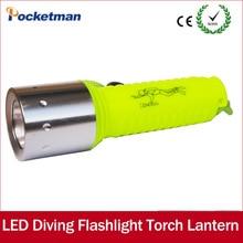 Professional LED Diving flashlight 18650 LED T6 Underwater l