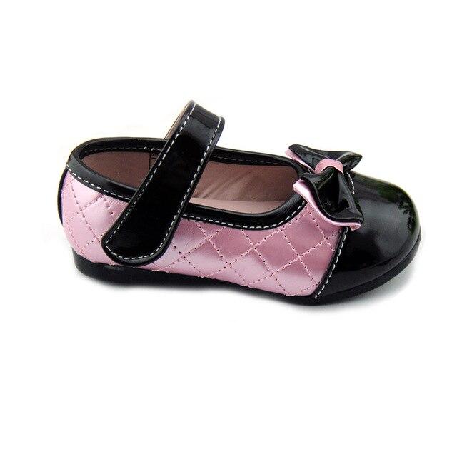 f75ab16ecc Envío gratis 2016 Niños Niñas 2-5 Años Femeninos Princesa Zapatos de Bebé  Calzado Zapatos