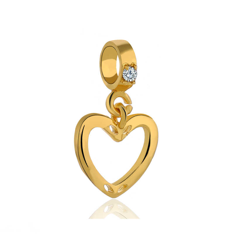 Hot Selling Minnie Rabbit Star Life Tree Love Heart God of Wealth Pendant Beads Fit Pandora Bangles Necklaces Women DIY Jewelry