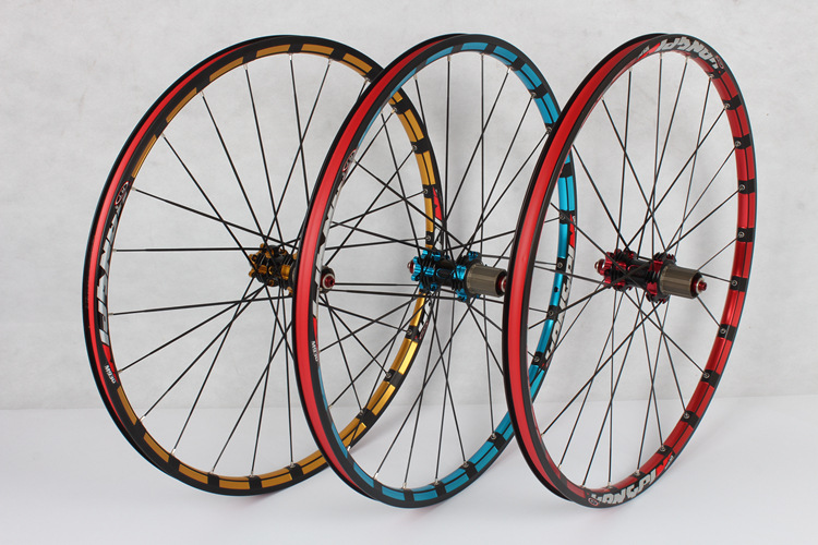 RT M930 kalnų dviračių ratų komplektas 5PCS guolis 120 žiedų diskiniai stabdžiai HUB 26 colių / 27,5 colių dviračių ratų priedai