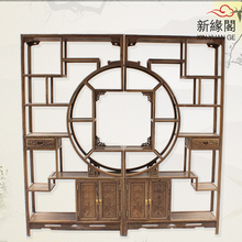 Shelf Treasure House of Chinese Ming and Qing antique furniture frame wenge wood tea Shelf antique frame