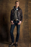 New Arrival High Quality Men S Fashion Motocycle Coat Calf Skin Genuine Leather Clothing Female Air