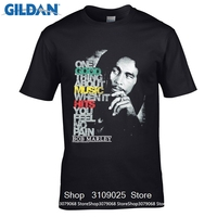 GILDAN DIY Style S T Shirts Newest 2017 Fashion Stranger Things T Shirt Bob Marley Good