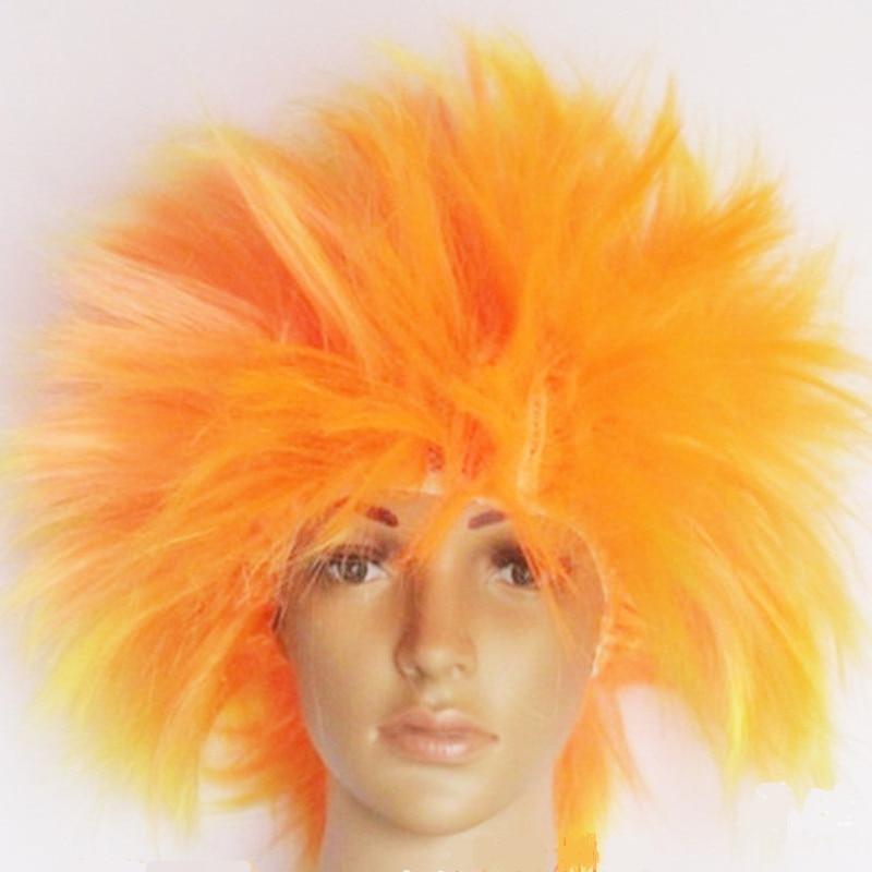 Big hair Explosive hairstyle hair set Cosplay Peluca Peruca Perruque headwear Carnival Purim Nightclub Rave party Costumes dress