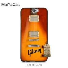 Erstaunliche landschaft harte pc Telefonkasten Für HTC EINS A9 fall Gibson Guitar American Music Les Paul Akustische Sonnenbrand