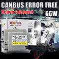 halogen xenon h4-2 H13-2 9004/9007-2 HID xenon kit CANBUS 55W C5 hid car light kit 4300K 5000K 6000K 8000K 10000K
