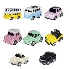 Pull Back Car Alloy Toy Boy Sports Baby Inertia Metal Model Set
