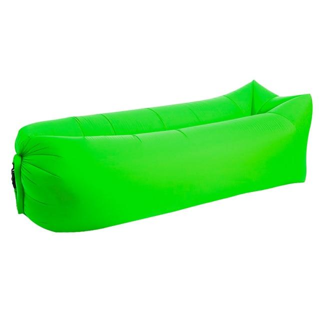 Hamac Gonflable Vert