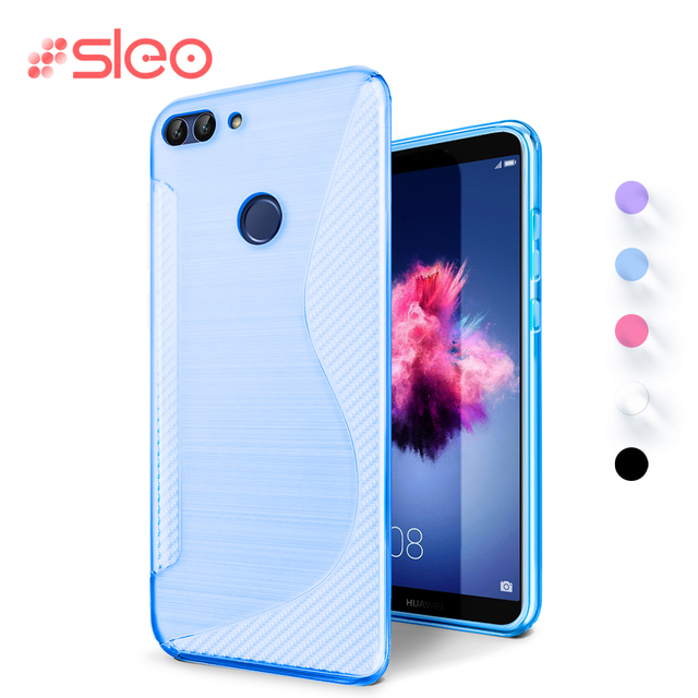 on sale b095c 42e1f US $2.34  SLEO For Huawei P20 Lite Case Soft Silicone TPU Case Funda For  Huawei Mate 10 lite Cover Cases For huawei P20 p20 plus-in Fitted Cases  from ...