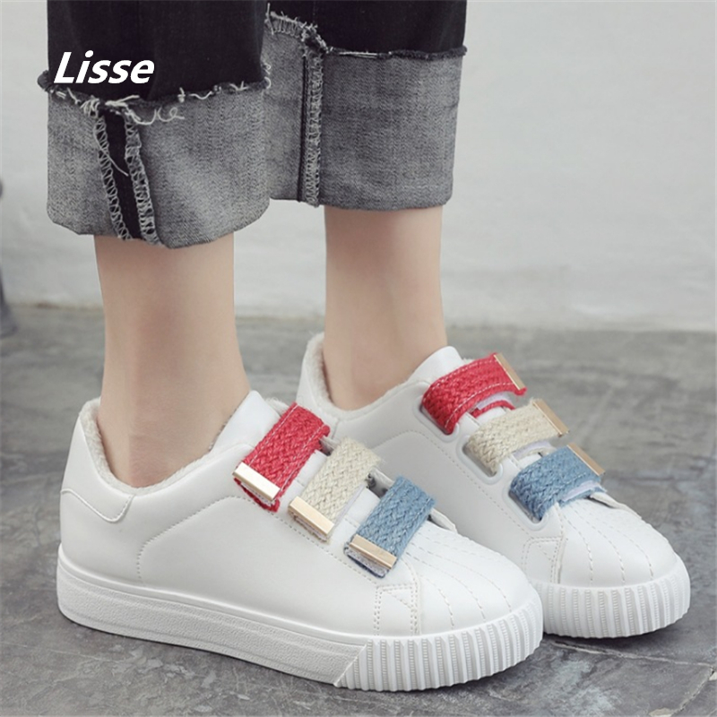 2018 Spring Summer Breathable Fashion White Shoes Woman Footwear Flats Pu Slip on Casual Shoes Women Sneakers Hot Sale vikeduo brand 2017 fashion top real leather hollow breathable men shoes leisure casual lace shoes summer spring white footwear