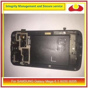 """Image 2 - 6.3"""" For SAMSUNG Galaxy Mega 6.3 i9200 i9205 LCD Display With Touch Screen Digitizer Panel Pantalla i9200 LCD With Frame"""
